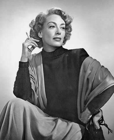 Foto de Joan Crawford Joan Crawford Quote Love is a fire