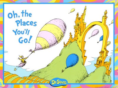 dr seuss Oh! The Places You'll Go! by Dr. Seuss