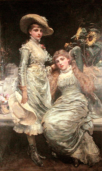 The Two Sisters xx James Sant To You. by Walt Whitman