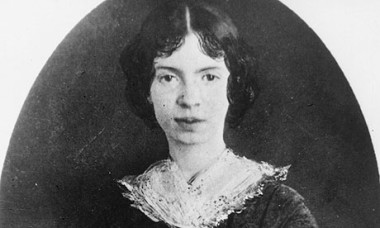 Emily Dickinson did which of the following?