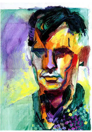 """Jack Kerouac quote """"The only people for me are the mad ones…"""""""